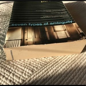 Urban Outfitters Other - Eliot Pearlman Seven Types Of Ambiguity
